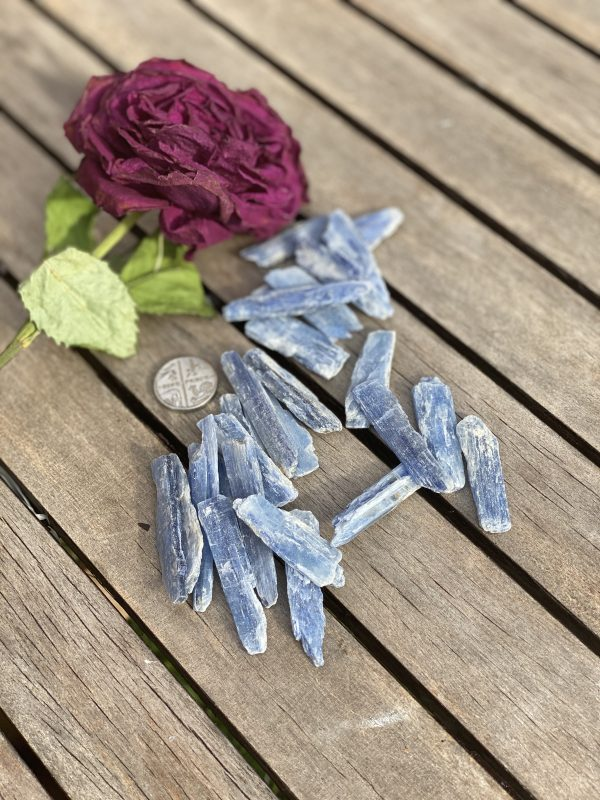 Blue Kyanite with 5p