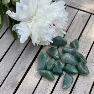 Green Chalcedony Crystal