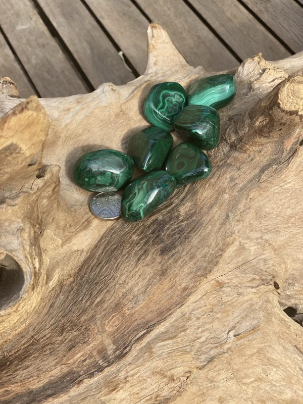 Malachite (M) with 5p