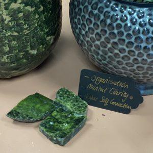 Atlantisite (Stichtite in Serpentine) Crystal