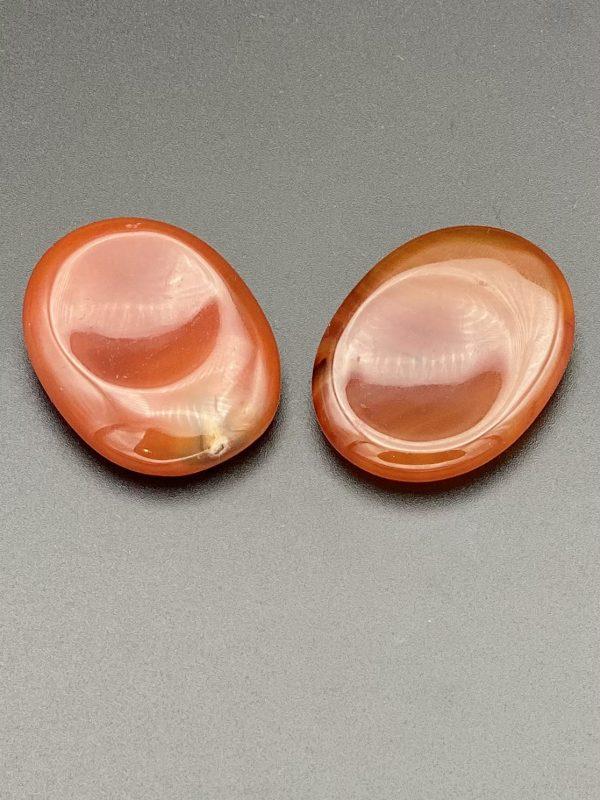 Carnelian Thumb Stones