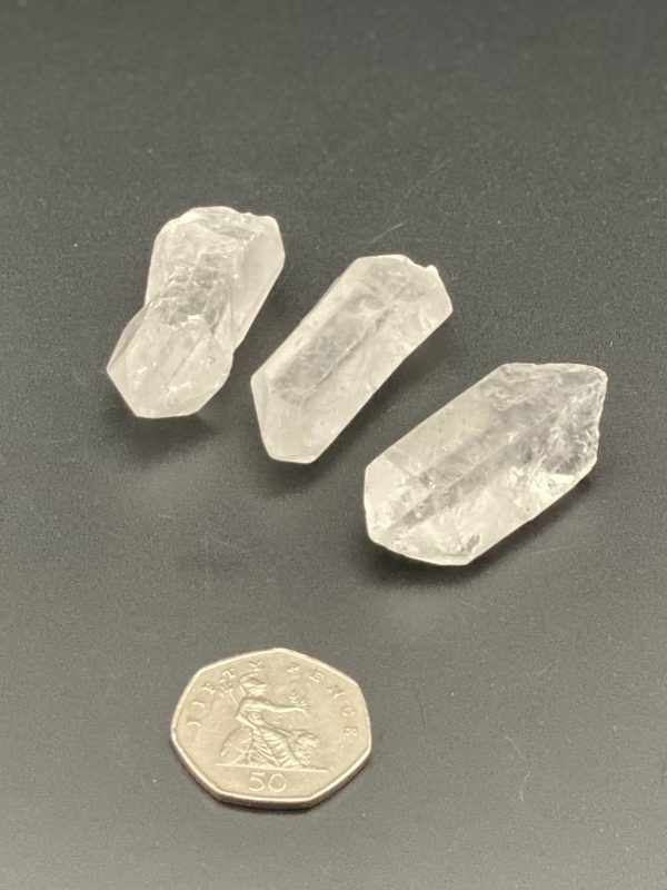 Clear Quartz Crystal Points with 50p