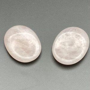 Rose Quartz Thumb Stones
