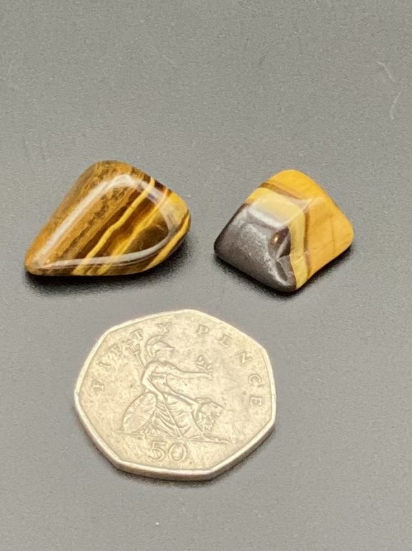 Tiger's Eye with 50p