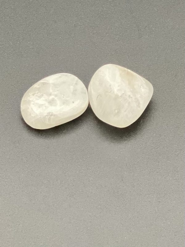 White Moonstone with 50p